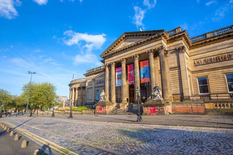Walker Art Gallery at William Brown Street in Liverpool, UK. Walker Art Gallery at William Brown Street in Liverpool City centre, one of the largest art stock photo