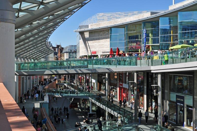Liverpool UN centro comercial fotos de archivo