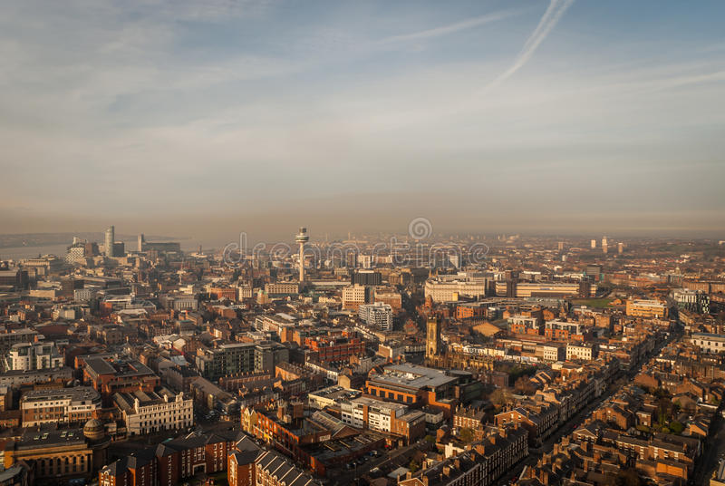 Liverpool royalty free stock image