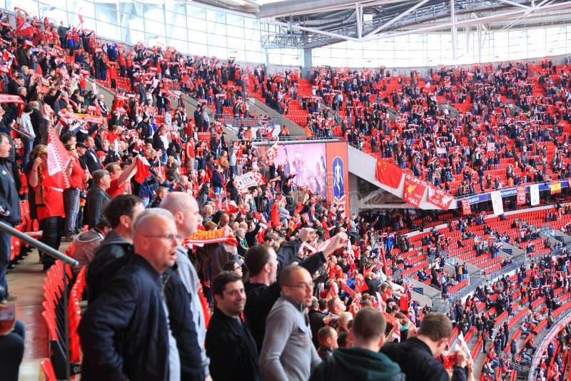 Download Liverpool Vs Everton FA Cup Semi Final 2012 Editorial Photo - Image of fanatic, arena: 24379491