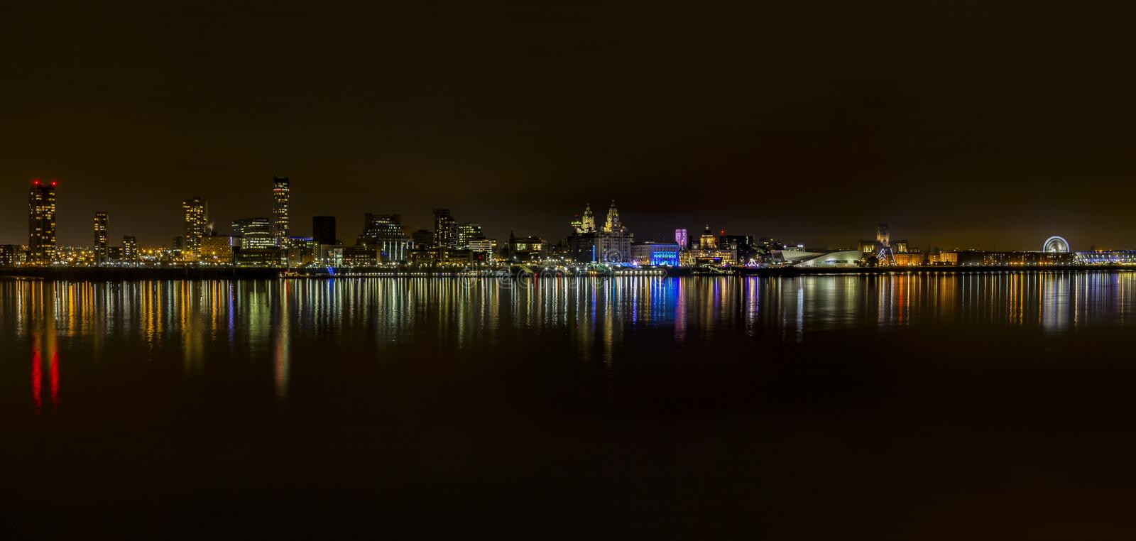 Liverpool Waterfront stock image