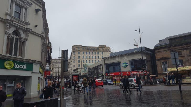 Liverpool-Zentrale lizenzfreies stockbild