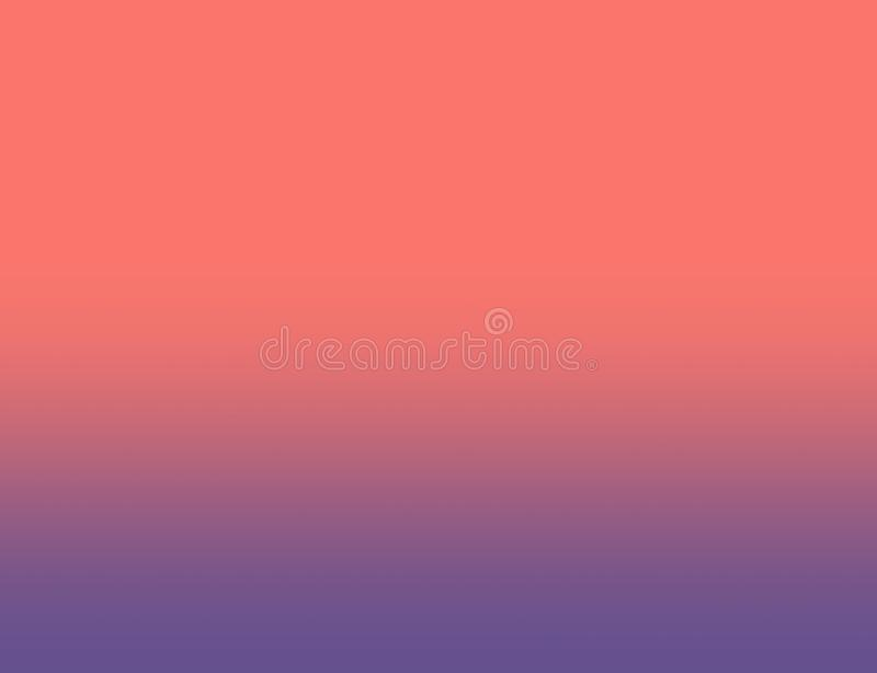 Living Coral Color of the Year 2019 royalty free stock image