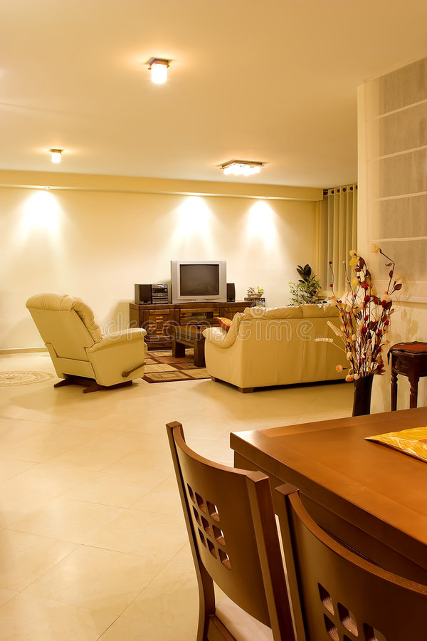 Download Living room 1 stock image. Image of decoration, carpet - 2175191