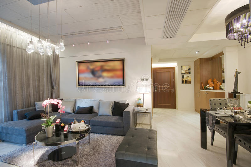 Download Living room stock photo. Image of cosy, indoor, flat - 18372714