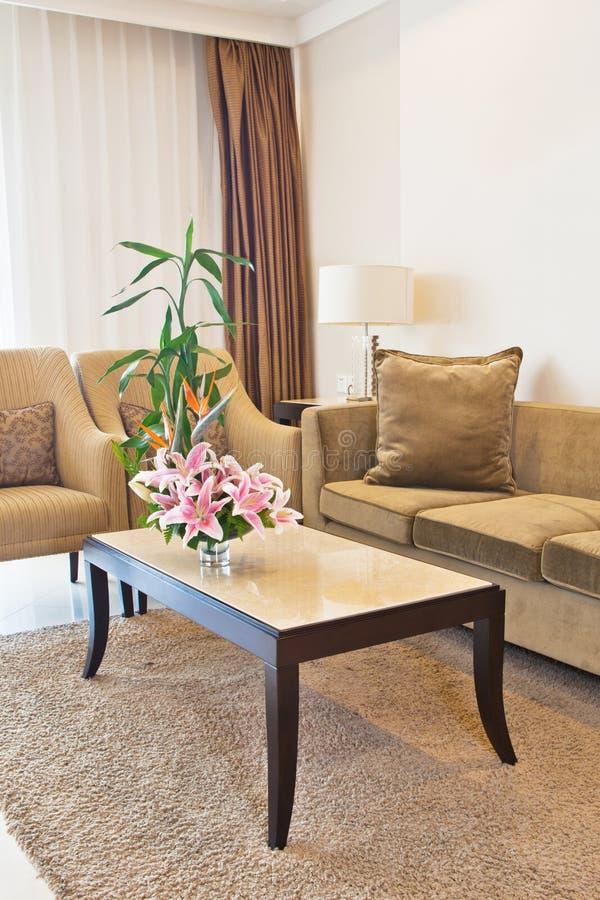 Download Living room 2 stock image. Image of flower, floor, decor - 21973433