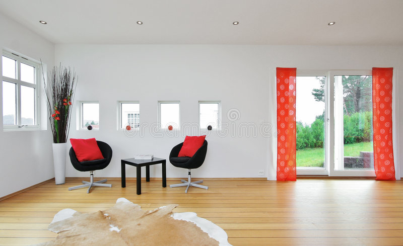 Living room stock photography