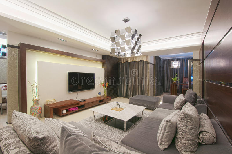 Download Living room stock photo. Image of detail, flat, decoration - 24170344