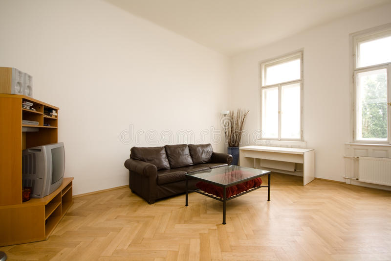 Download Living room stock image. Image of architecture, parquetry - 27006027