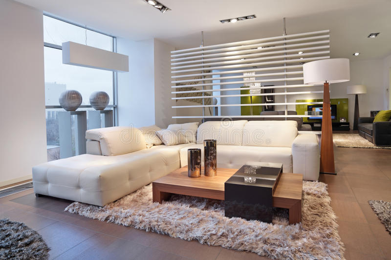 The living room stock photography