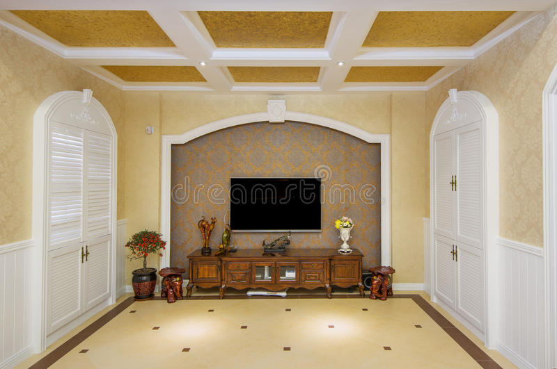 Download Living room stock image. Image of decorate, artwork, condo - 28966399