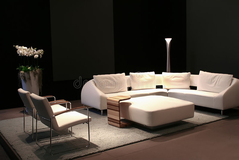 Download Living room stock photo. Image of goblet, design, books - 3376796