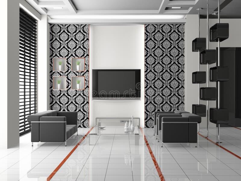 Download Living room 3D stock illustration. Illustration of room - 17630806