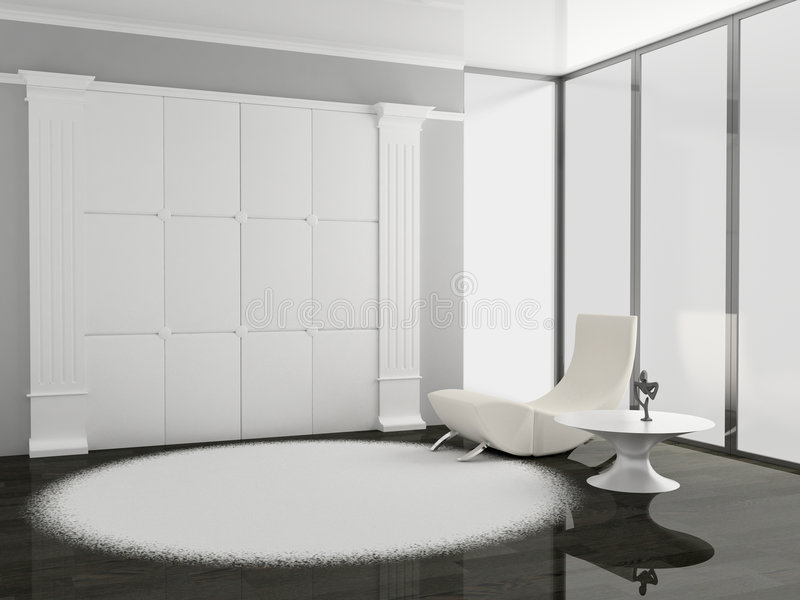 Download Living room stock illustration. Image of modern, frame - 7722175