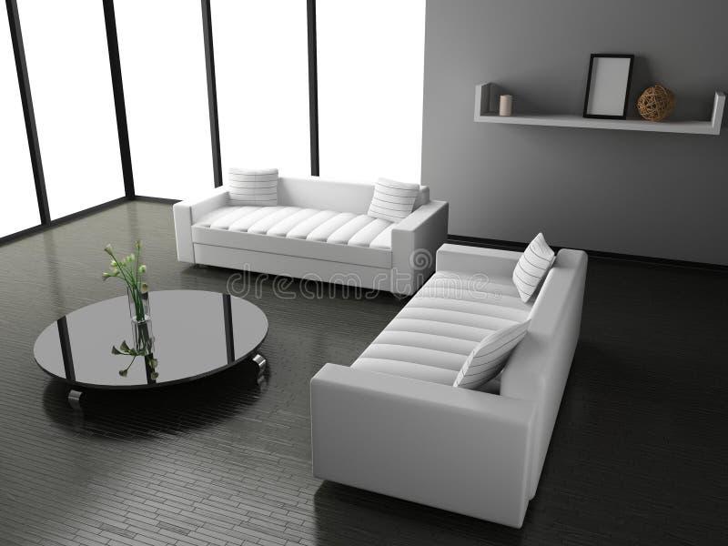 Living room stock photo