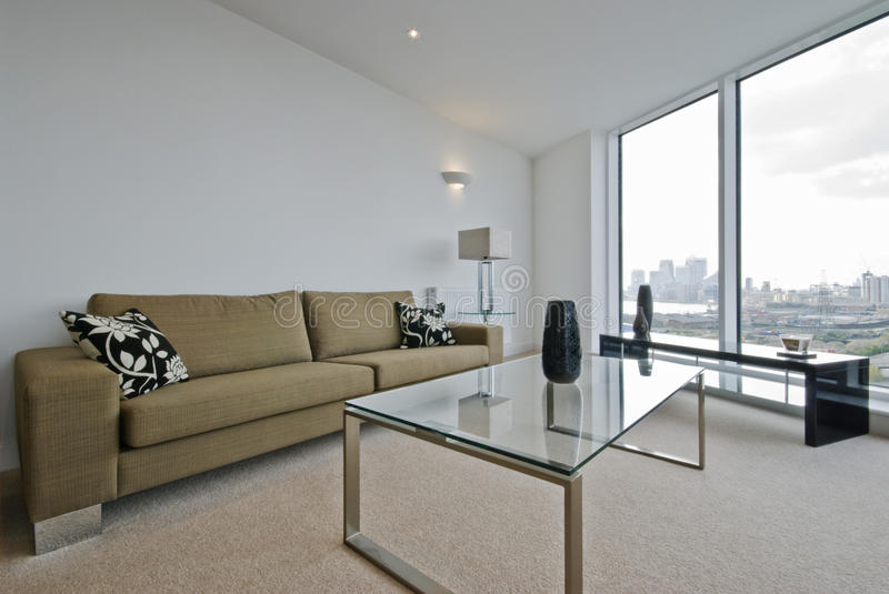 Download Living Room With City Views Stock Photo - Image: 10416790