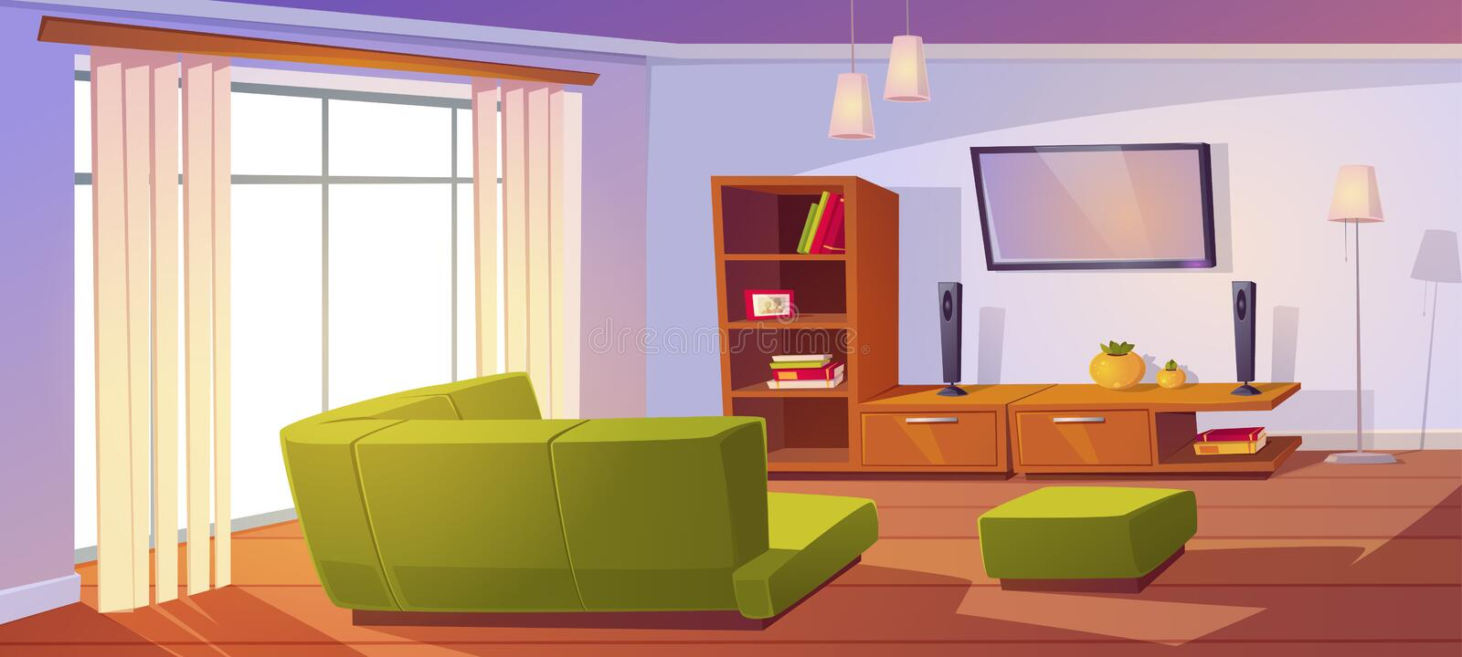 Cartoon Tv Wall Stock Illustrations 520 Cartoon Tv Wall Stock Illustrations Vectors Clipart Dreamstime