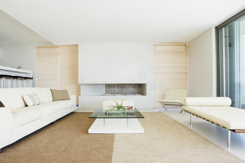 Living room with decoration royalty free stock image