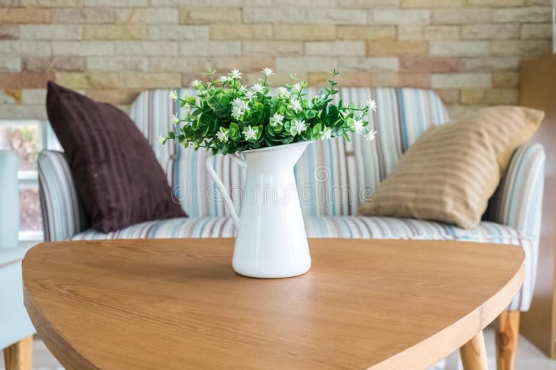 Download Living Room Decoration With Flower Vase Stock Photo   Image:  59500554 Part 60