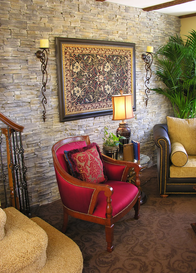 Living Room Interior stock photo