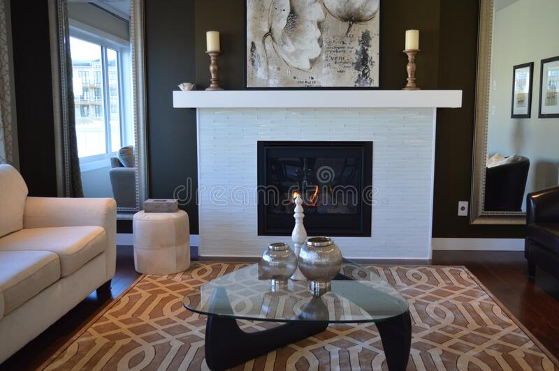 Living Room Interior In Contemporary Apartment Free Public Domain Cc0 Image