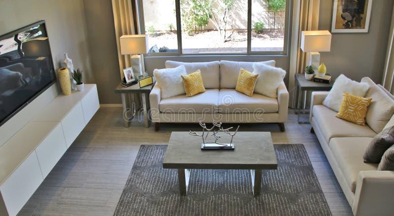 Living Room Interior stock image
