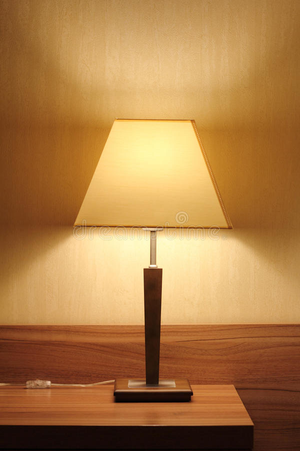 Living room lamp stock images