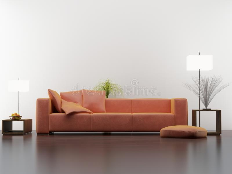 Download Living Room Setting Stock Photo. Image Of Space, Empty   10750934