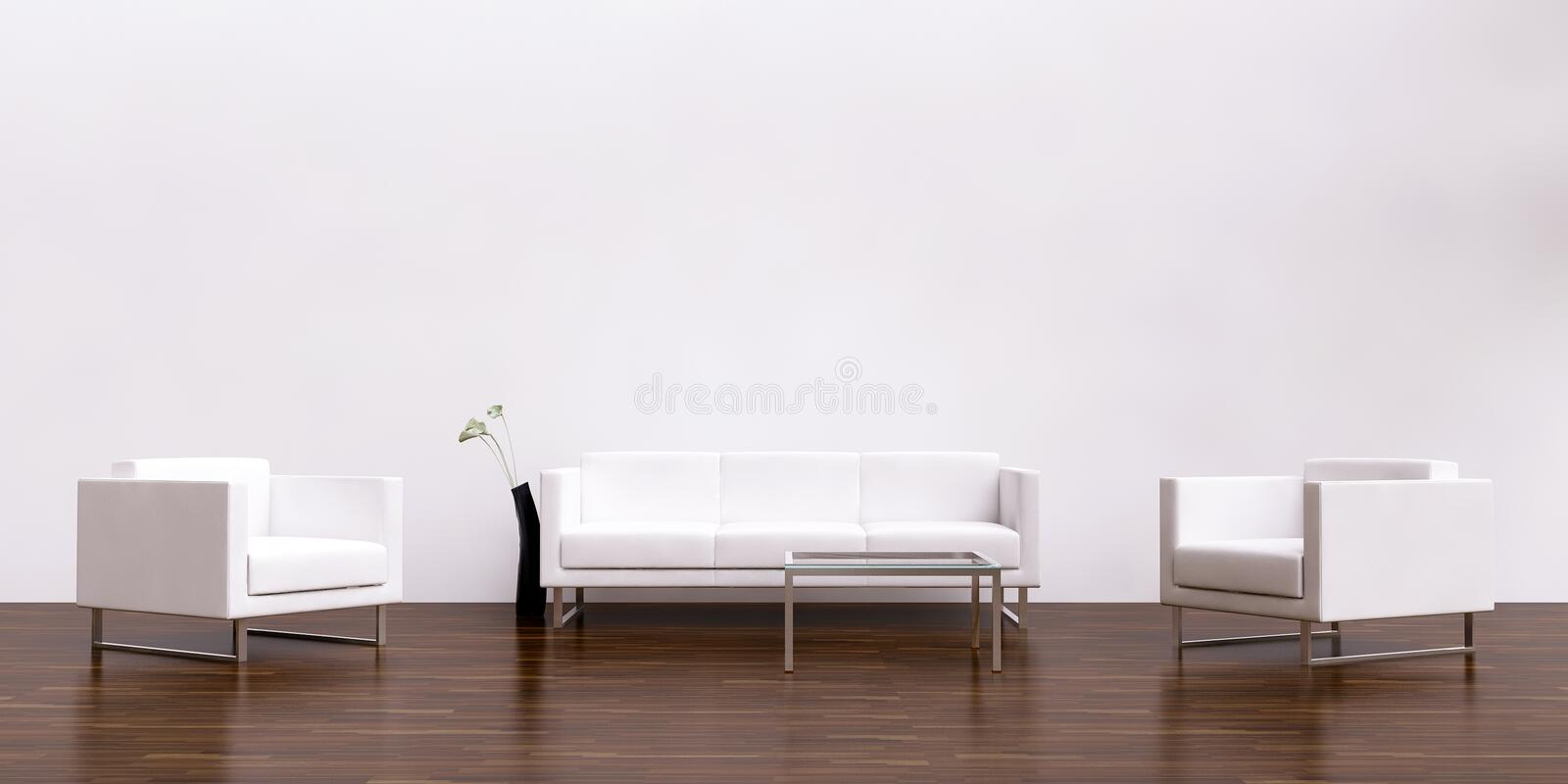 Download Living Room Setting Stock Illustration. Illustration Of Furniture    11007690