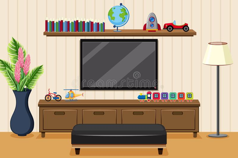 Room Television Stock Illustrations 13 088 Room Television Stock Illustrations Vectors Clipart Dreamstime