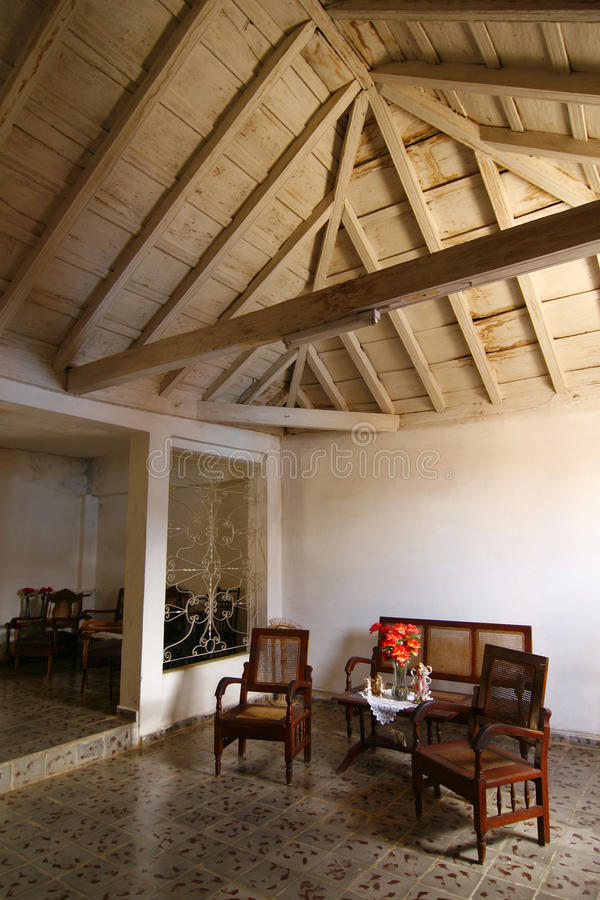Download Living Room, Trinidad, Cuba Stock Image - Image: 11917855