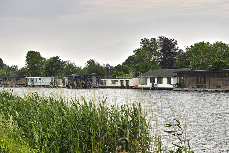 Living on the water. royalty free stock images