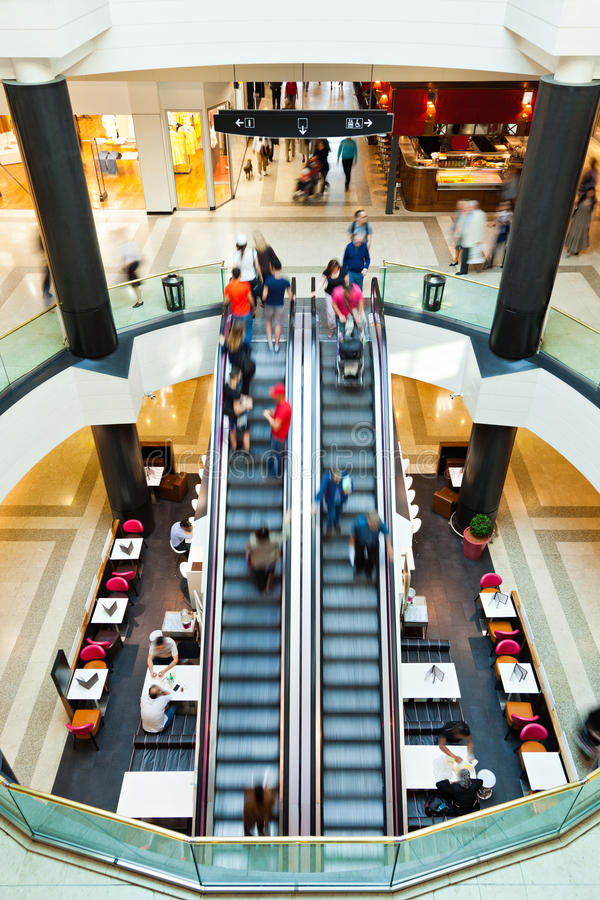 Download LivingIn A Mall stock photo. Image of blurred, restaurant - 24187844