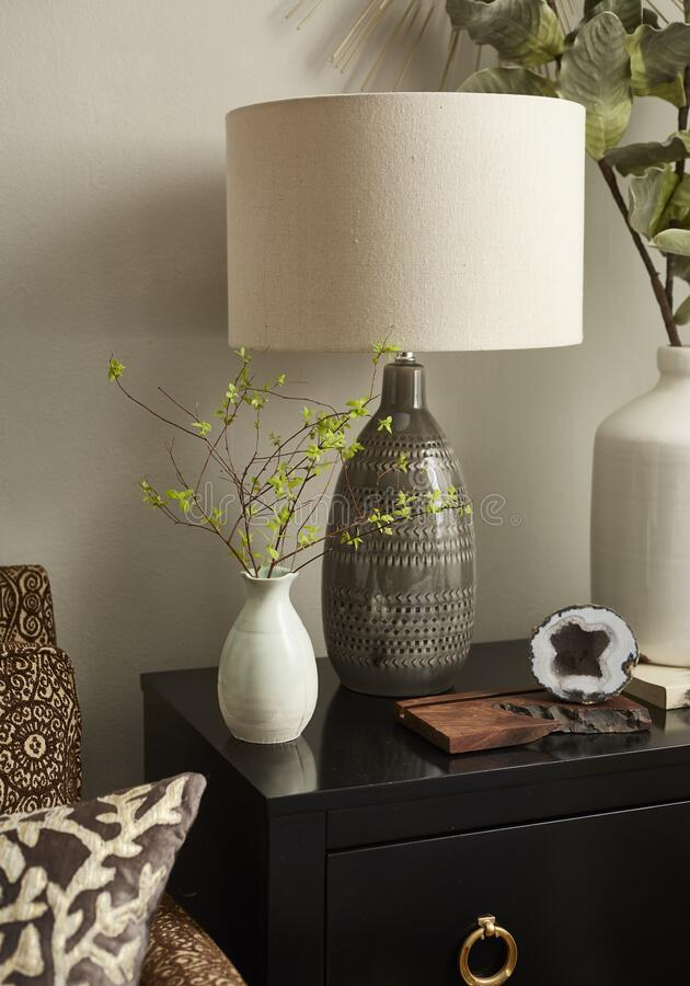 Livingroom Detail royalty free stock photography