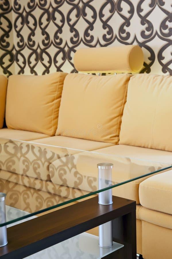 Livingroomdetaljer arkivfoto