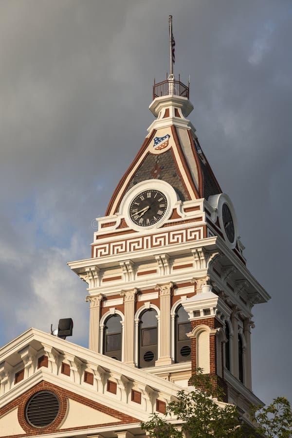 Livingstonprovincie royalty-vrije stock foto