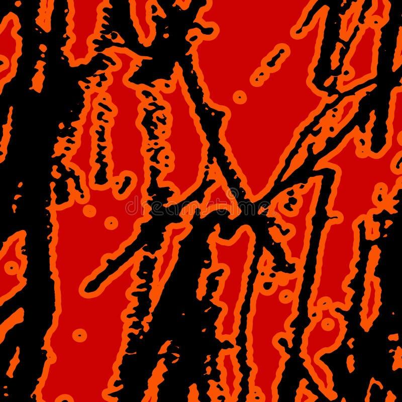 Livlig abstrakt Grungetextur stock illustrationer