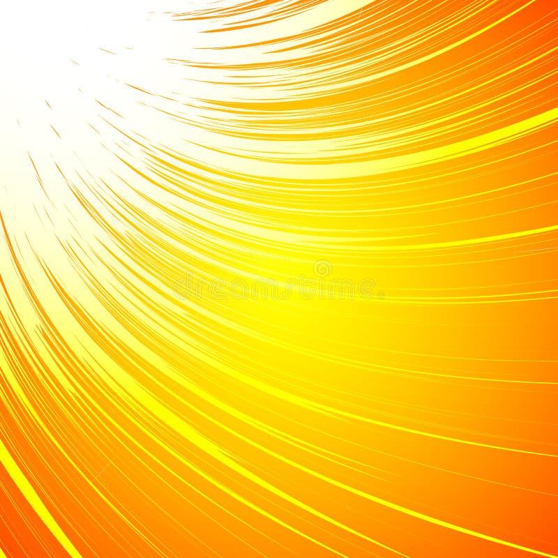 Livlig färgrik bakgrund med spiralt motiv Abstrakt spiral, Co vektor illustrationer