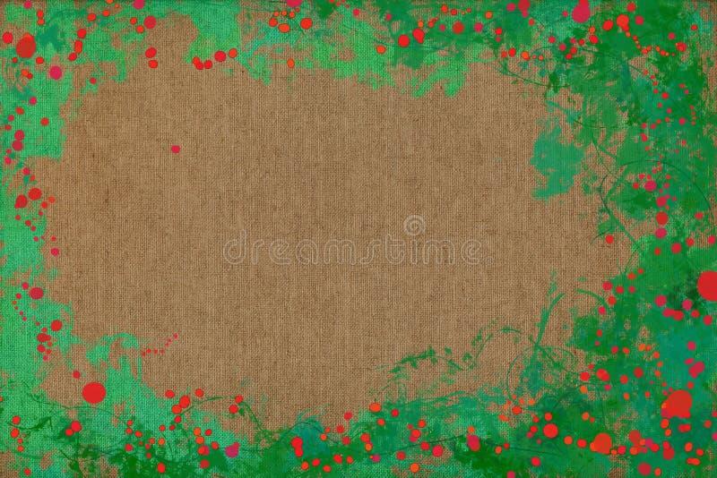 Livlig glad målningbakgrundstextur med dynamiska modeller och vibrerande färger arkivbild