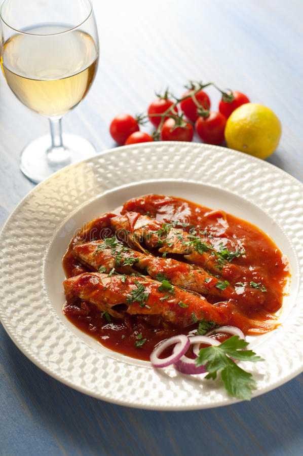 Download Livornese Red Mullets Typical Tuscany Recipe Stock Photo - Image: 13893746