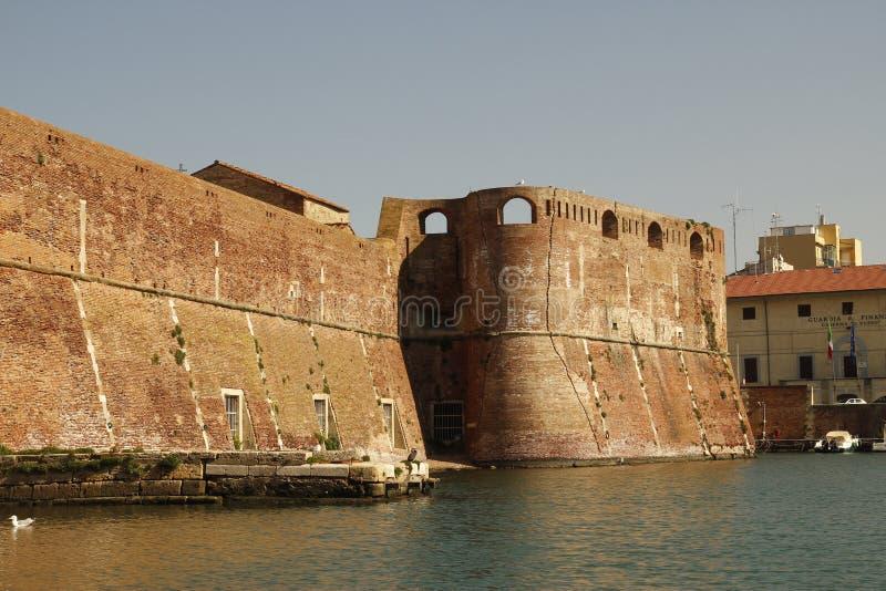 Livorno on Boat royalty free stock photo