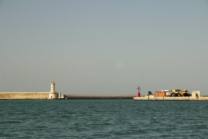 Livorno on Boat royalty free stock photos