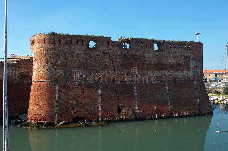 Download Livorno castle stock photo. Image of castle, wall, fortress - 7946050