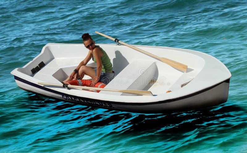 Livräddningsbåt royaltyfri foto