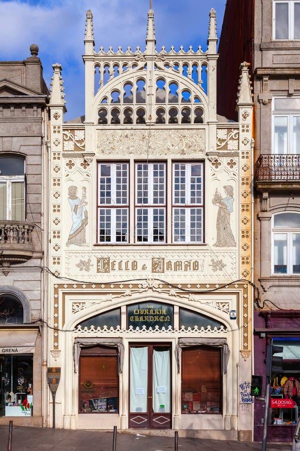A livraria famosa de Lello e Irmao imagem de stock