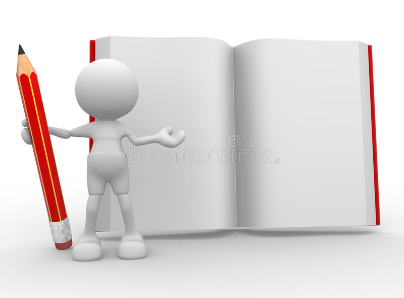 Livre illustration stock