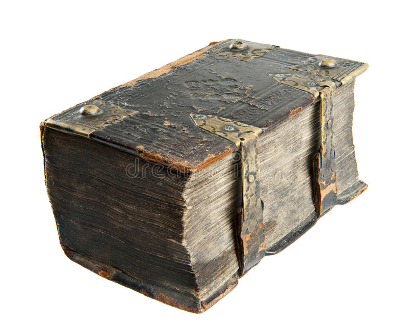 Livre antique photographie stock