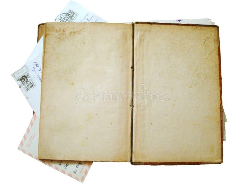 Livre antique de cru image libre de droits