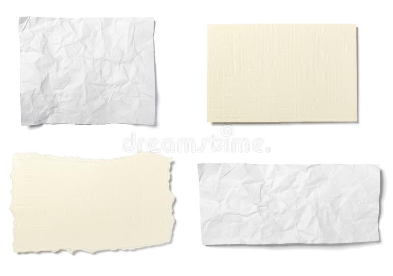 Livre blanc images libres de droits