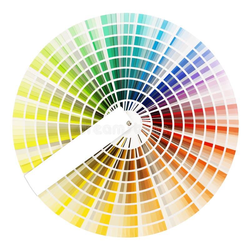 Livre d'échantillon de couleur photographie stock libre de droits